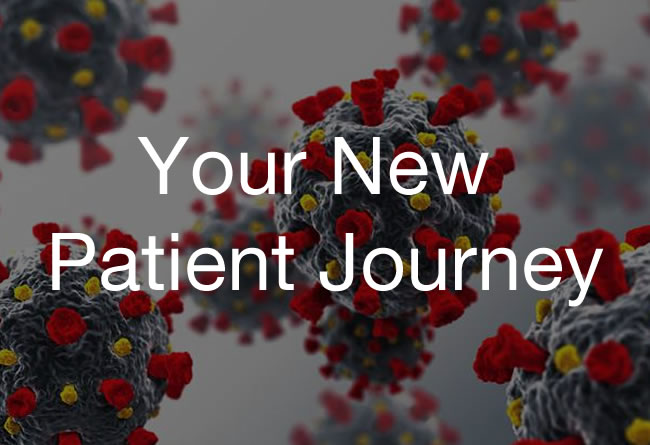 COVID-19 Your new patient journey