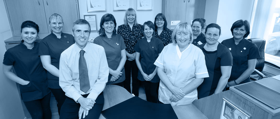 Our family practice is home to a friendly team